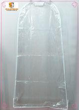 transparent plastic PVC poly garment bag