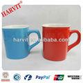 Multa de grés cerâmica caneca, praça forma reta de café de porcelana caneca, cor de vidro de boa qualidade drinkware xícara de chá de