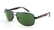 2014 Aviator Sunglasses Metal Frame Acetate Temple