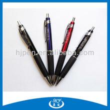Half Metal Twist Ball Pen With Rubber Grip