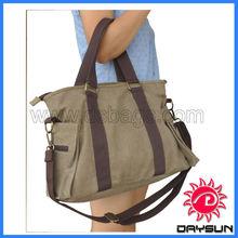 Hot Selling Handbag Canvas Satchel Bags