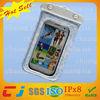 cell phone neck hanging bag/waterproof swimming bag/smartphone waterproof cases with OEM logo