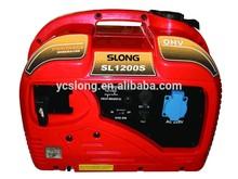 Mini camping gasoline generator 1kw silent type