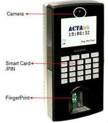 Web-Based Fingerprint Access Control & Time Attendance