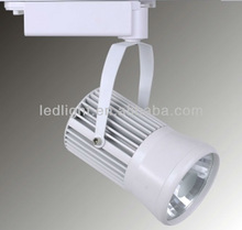 Saving energy 20w Led track lighting for bank and clothes shop lighting