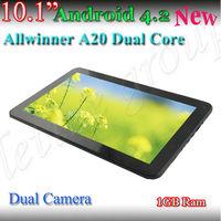 10inch Cheapest Dual Core HD Allwinner A20 Cortex A8 Twin Cameras Good Signal Tablet PC