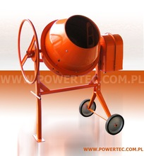 Concrete mixer POWER TEC 160 / 230V /12 Europe CE