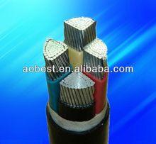 al /xlpe/pvc power cable copper conductor cable