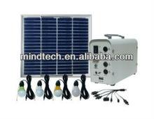 12v dc solar home light system can load dc usb fan