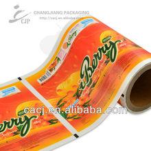 Plastic packaging flexible bag for ice cream packaging film
