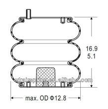 Triple convoluted air spring/Air suspension 3B12-328/Car part For WATSON & CHALIN