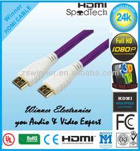 2m de alta velocidad pro v2.0/1.4a cable hdmi 3d 2160p ps4 sky hd 4k ultra hd