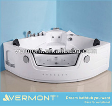 Hydromassage whirlpool coner massage bathtub