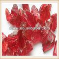 roja triturado de vidrio