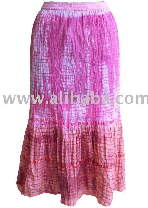 diseñador de faldas largas para las señoras