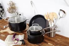 7pcs milk pan, soup pot,frying pan german cookware