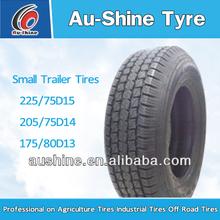 Small trailer tire 205/75D15