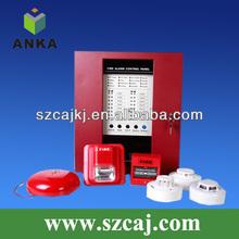 24 v convencional hotel de alarma 4 zonas sistema