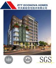 China Multi-story Prefabricated Light Steel House fast installation prefab house