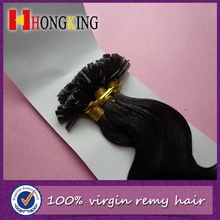 Virgin Indian Remy Hair Extension U Tip Top Selling Products 2014 in Stock
