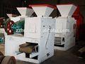 Polvo de carbón/negro de carbono de fabricación de briquetas de prensa de la máquina con diferentes tipos de formas