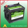 Maintenance Free Auto Battery 12V60AH SLA/SLI/SMF Starting battery, Truck/Car automobile Battery