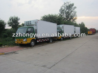 Best Quality new freezer van sale/cooling box truck