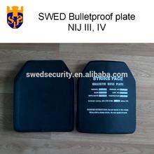 SWED JS-4ESTA bulletproof plate level IV NIJ Military Police ceramic body armor