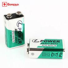 9V 6F22 Carbon zinc batteries