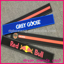 honest china supplier high quality red bull soft pvc bar mat