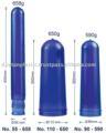 5 galões pré-formas pet para garrafas ( preço do competidor, 55mm com 660g, e muito mais )