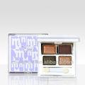Menow e13005 glitter 4- cor de maquiagem sombra paleta