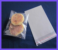 Customized Clear Plastic Bags For Cookies Packaging