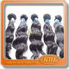 100% brazilian human hair sew in weave