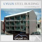 Luxury hotel steel frame prefab motel & prefabricated hotel