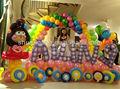 Balão como decoração para crianças festa de aniversário