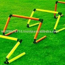 Agility soccer speed hurdles