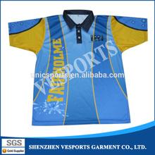 Wholesale Sublimation Polo Shirts Custom design