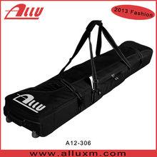 Wholesale wheeled ski pole bag double Ski Bag