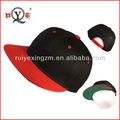 online satın alma çin siyah akrilik donatılmış boş kap ve şapka özel Snapbacks