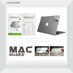 Silver Mac Guard for MacBook Pro with Retina Display 13-inch Body Skin Guard