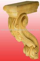 Low cost Wood Decorative Corbel Designs
