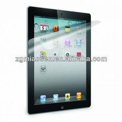 ipad mini screen protector anti-scratch/anti-fingerprint with factory supply