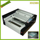 desktop glue book binding machine XHJ380, hot glue book binder binding machine, desktop perfect binding machine