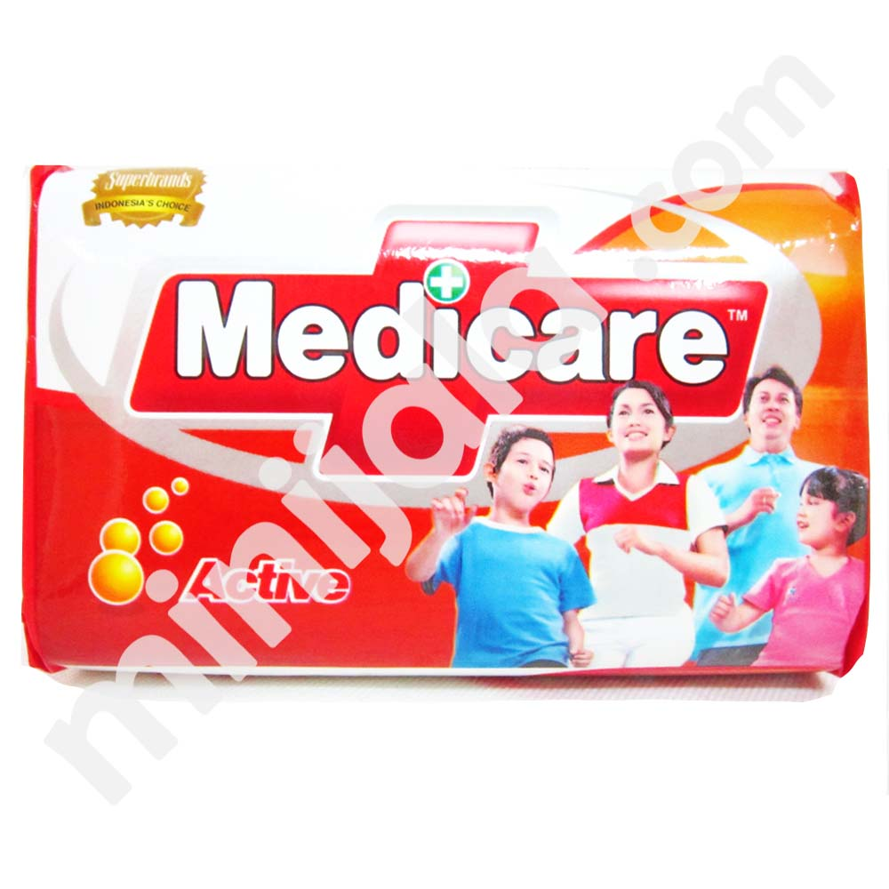 Medicare Antiseptic Soap With Indonesia Origin