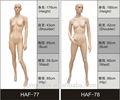 2013 beliebt weiblichen schaufensterpuppen/dummy-und/modell großhandel!!
