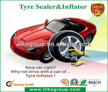 Captain Tire Sealer & Inflator(brtvila za gume),Tubeless Tire Sealer