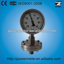 100mm bottom type Diaphragm pressure gauge