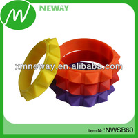 Fashion silicone spike bracelets personalized rubber wrist bands