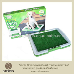 Anti-microbial plastic recycle puppy pad